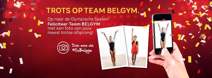 Trots op team Belgym