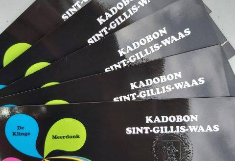 Sint-Gillise kadobon voor onze leden